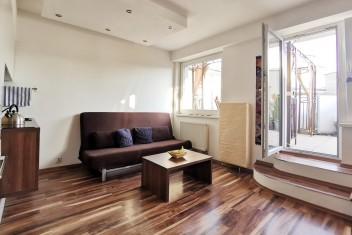 Просторная 1,5-комнатная квартира с террасой недалеко центра, улица Letná, Bratislava – Nové mesto