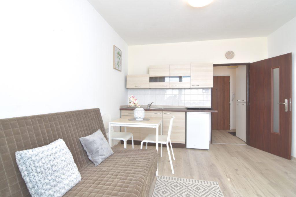 3D and VIDEO: Studio apartment on Trieda Andreja Hlinku Street in Nitra