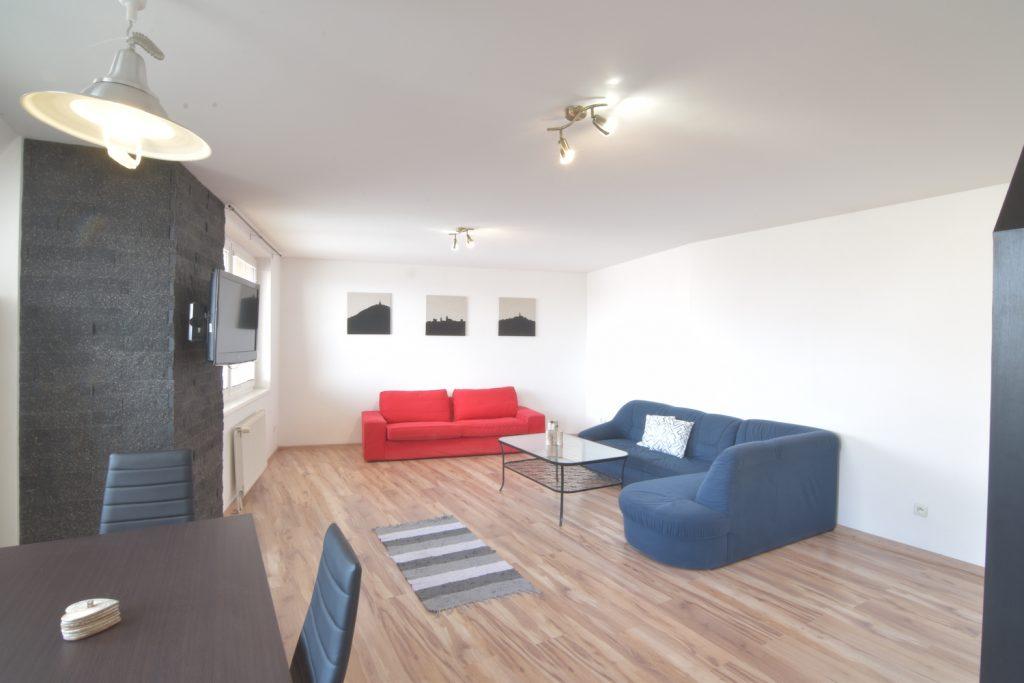 3D and VIDEO: 3-room furnished apartment, Kozmonautov Street, Nitra