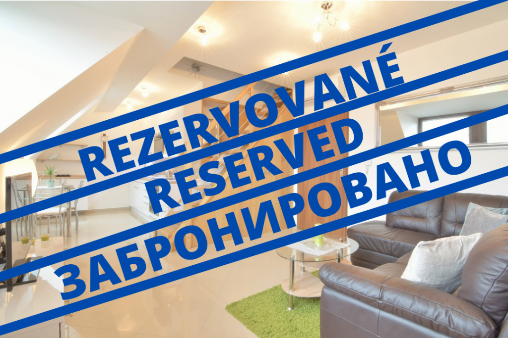 VIDEO: 2-bedroom maisonette with a terrace in the city center of Nitra on Fraňa Mojtu Street