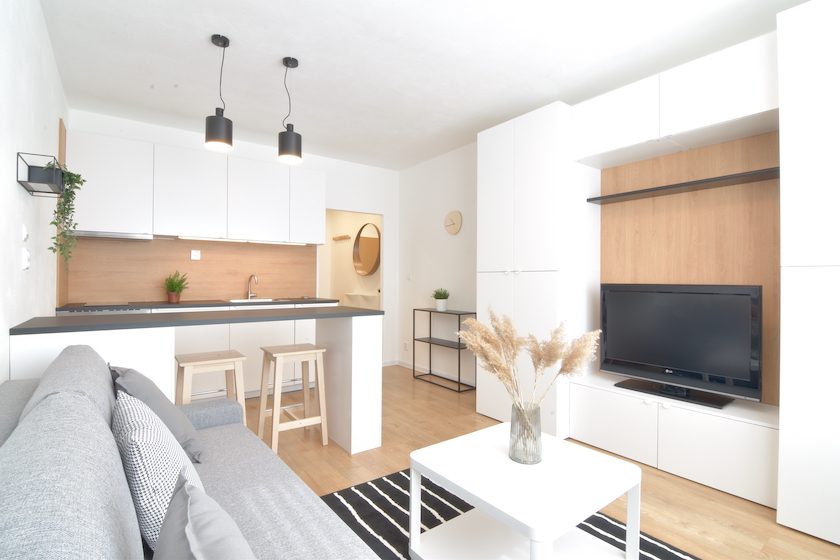 3D and VIDEO: Reconstructed studio apartment on Novomeského Street, Nitra