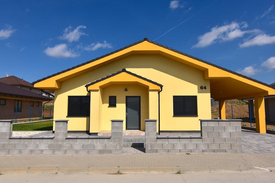 3D и ВИДЕО: Семейный дом – новостройка с садом и парковкой, Nitra – Janíkovce