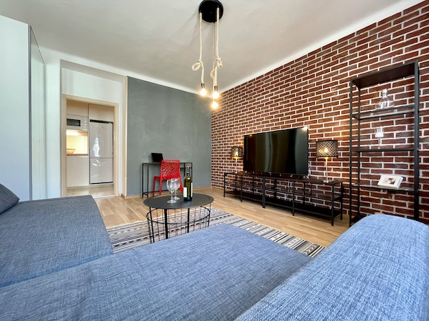 3D and VIDEO: Reconstructed 2-bedroom apartment in the city center of Bratislava